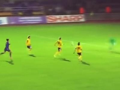 Прикольное видео про футбол