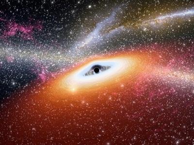 Определена масса и размеры самой большой чёрной дыры