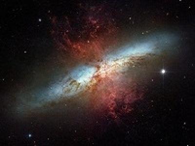 Интересные галактики M82 (NGC 3034) и М81 (NGC3031)