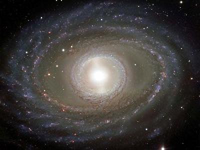 Спиральная галактика NGC 1398