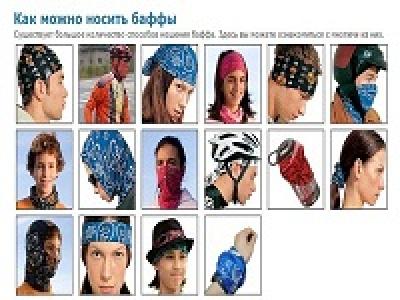 Функциональный головной убор - бафф (buff)