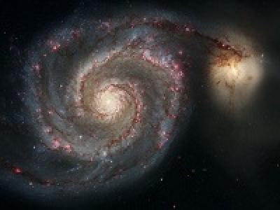 Галактика NGC 5194 - Водоворот