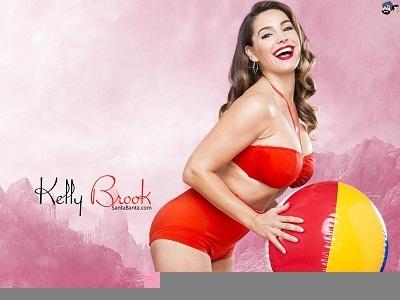 Келли Брук - идеальное женское тело