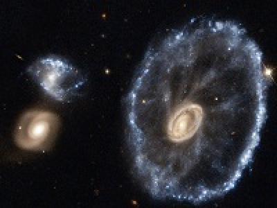 Галактика Колесо Телеги