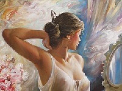 Женщина - муза для художников