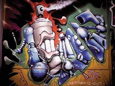 Граффити - искусство самовыражения
