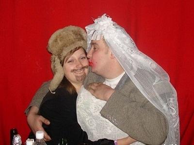 Свадьба по-русски (Фото и анекдоты)