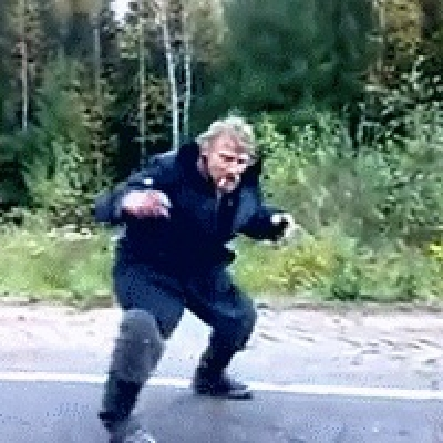 Пляски на русских дорогах