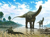 Следы динозавров на Земле